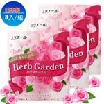 【日本進口】草本花園捲筒衛生紙-玫瑰4入*3