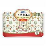 【蘇菲】蘇菲天然草本衛生棉25cmX18片X6包