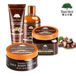 【Tree Hut】樹上小屋4件組-巴西堅果香味( 沐浴乳+磨砂膏+身體乳+乳霜