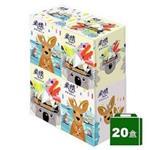 【柔情】保濕感盒裝面紙 110抽 4盒X5袋-精巧盒