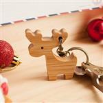 【Sylvia 典藏精品】聖誕鑰匙圈 麋鹿