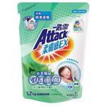 一匙靈 柔膚感EX超濃縮洗衣精馬鞭草香氛 1.2kg補充包