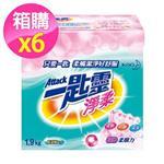 一匙靈 淨柔超濃縮洗衣粉 (1.9Kg x6入/箱)