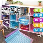 【台灣製造】居家抽屜 櫥櫃 防潮 防霉墊 250x60cm