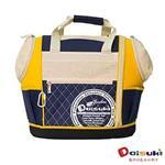 Daisuki CS02雙露頭後背寵物袋(L) - 藍黃(L)