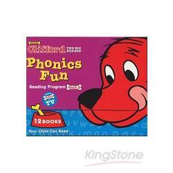 CLIFFORD PHONICS FUN PACK 2 (W/CD)認識自然發音套書-大紅狗(系列2-附CD)