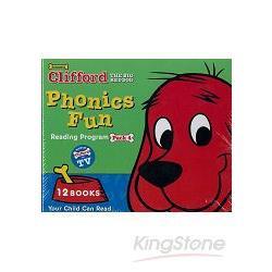 CLIFFORD PHONICS FUN PACK 4 (W/CD)認識自然發音套書-大紅狗(系列4-附CD)