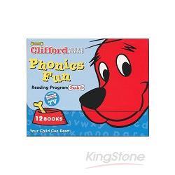 CLIFFORD PHONICS FUN PACK 5 (W/CD)認識自然發音套書-大紅狗(系列5-附CD)