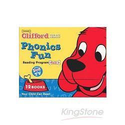 CLIFFORD PHONICS FUN PACK 6 (W/CD)認識自然發音套書-大紅狗(系列6-附CD)