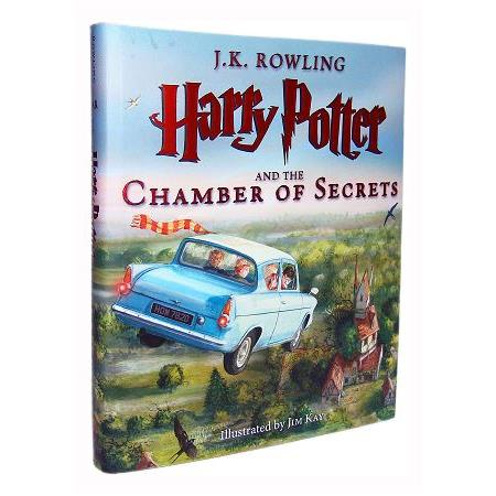 Harry Potter and the Chamber of Secrets 哈利波特《消失的密室》2016全新版(彩圖內頁)