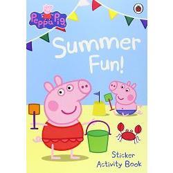 Peppa Pig Summer Fun Sticker Activity Bk