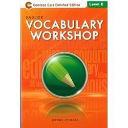 Sadlier Vocabulary Workshop Level E: Student Edition