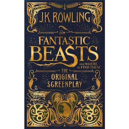 Fantastic Beasts and where to Find Them 怪獸與牠們的產地電影劇本小說