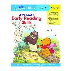 Disney: Winnie the Pooh Early Reading Skills學習技巧系列:跟著小熊維尼輕鬆讀