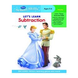 Disney: Princess - Subtraction學習技巧系列:公主們教減法