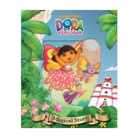 Dora the Explorer Magical Story Book朵拉系列:水晶王國的探險