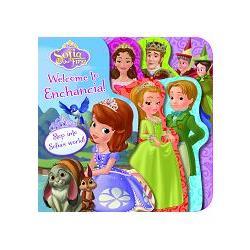 Disney Sofia the First Layered Board Book迪士尼蘇菲亞小公主造型厚板書