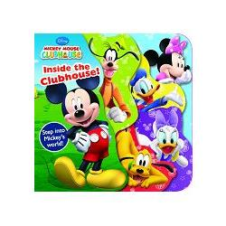 Disney Mickey  Mouse Club House:Discover Lavered Book迪士尼米奇妙妙屋造型厚版書