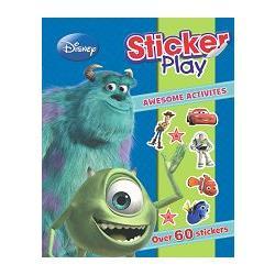 DISNEY PIXAR STICKER PLAY迪士尼皮克斯貼紙遊戲雙響書