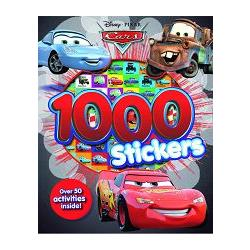 DISNEY CARS 1000 STICKERS BOOK迪士尼汽車總動員千張貼紙書