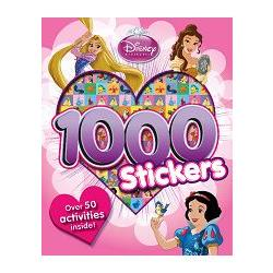 DISNEY PRINCESS 1000 STICKER迪士尼公主千張貼紙書