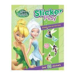 DISNEY FAIRIES STICKER PLAY迪士尼奇妙仙子貼紙遊戲雙響書