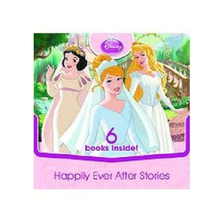 Disney Princess 6-in-1 Carry-along Story Box迪士尼公主甜蜜生活隨身組(英語閱讀書)