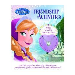 Disney Frozen Friendship Activity Book冰雪奇緣:友誼萬歲遊戲書(附安娜專屬項鍊)