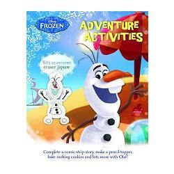Disney Frozen Adventures Activity Book冰雪奇緣:歡樂雪寶遊戲書(附雪寶造型橡皮擦)