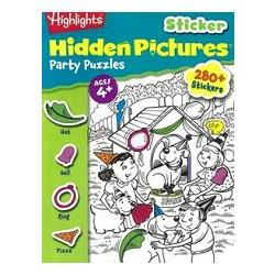 Highlights Sticker Hidden Pictures Party Puzzles