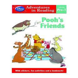 Disney Learning -Level Pre-1-Winnie The Pooh``s Friends英語閱讀:小熊維尼與朋友們