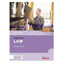 English for Law: Course Book & 2 audio CDs