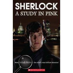 Sherlock: A Study in Pink with CD (Scholastic ELT Readers Level 4)新世紀福爾摩斯:粉紅色的研究