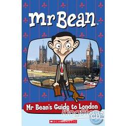 Scholastic Popcorn Readers Starter Level: Mr. Bean``s Guide to London with CD豆豆先生:倫敦旅遊指南