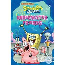 Scholastic Popcorn Readers Starter Level: SpongeBob Squarepants: Underwater Friends with CD海綿寶寶