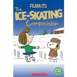 Scholastic Popcorn Readers Level 2: Peanuts: The Ice-skating Competition with CD史奴比:溜冰比賽