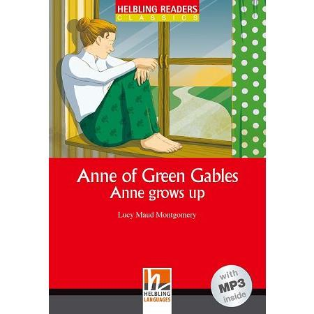 Helbling Readers Red Series Level 3: Anne of Green Gables Anne grows up (with MP3)清秀佳人2