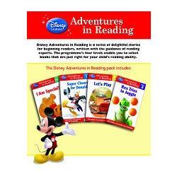 Disney: Adventures in Reading 4-in-1 pack for Boys迪士尼四合一英語閱讀初階套書(男孩主題)