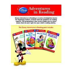 Disney: Adventures in Reading 4-in-1 pack for Girls迪士尼四合一英語閱讀初階套書(女孩主題)