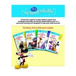 Disney School Skills Pack迪士尼全方位學習套書