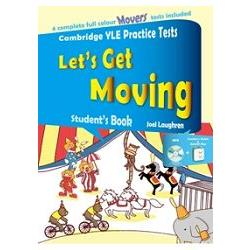 Let``s Get Moving Student``s Book+Answer key+MP3 (劍橋兒童英檢全真試題Movers)