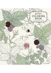 garden COLORING BOOK 小鳥與花與動物塗鴉本