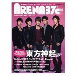 寫真集排行榜 ARENA 37℃ 4月號2009附東方神起大型海報