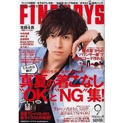 寫真排行榜 FINEBOYS 9月號2012
