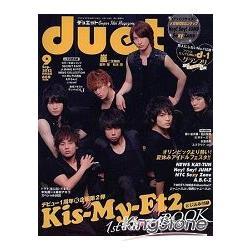 寫真集排行榜 duet9月號2012附海報