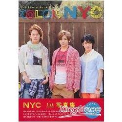 排行榜寫真書 NYC COLORS 首本寫真書