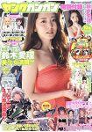 YOUNG GANGAN 3月20日 2015封面人物:鈴木愛理附文件夾