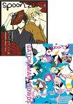 spoon.2Di Vol.03附科學小飛俠Crowds/K/無頭騎士異聞錄/美男高校地球防衛部LOVE海報