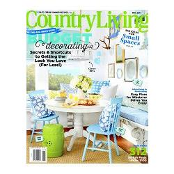 COUNTRY LIVING (US) 5月號 2017