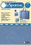 LeSportsac品牌MOOK 2015年春夏號style 3-Denim Pique附摺疊式旅行波士頓包